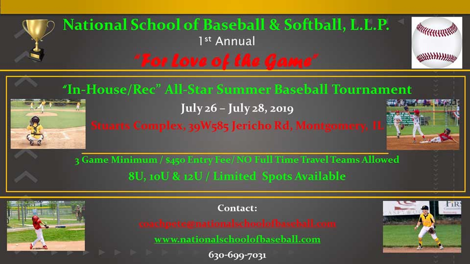 For Love Of The Game Tourney 2019
