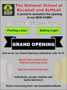 grand opening announcement for july 1st 2017 saturday in plainfield il
