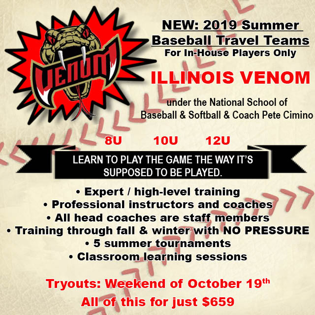 IllinoisVenomSummerTravel2019