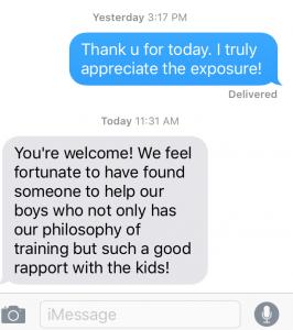testimonial from Mary Zalabak