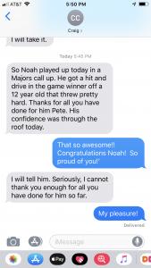 Noah Update