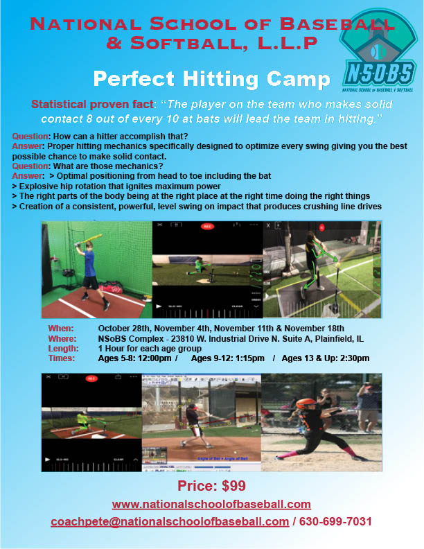 Our PERFECT HITTING CAMP
