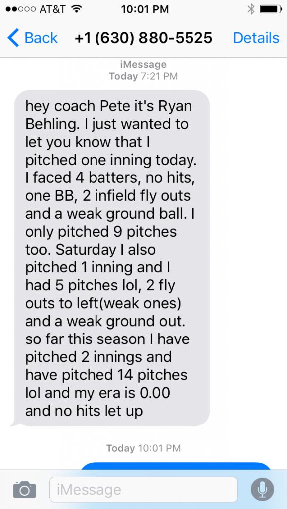testimonial from Ryan Behling