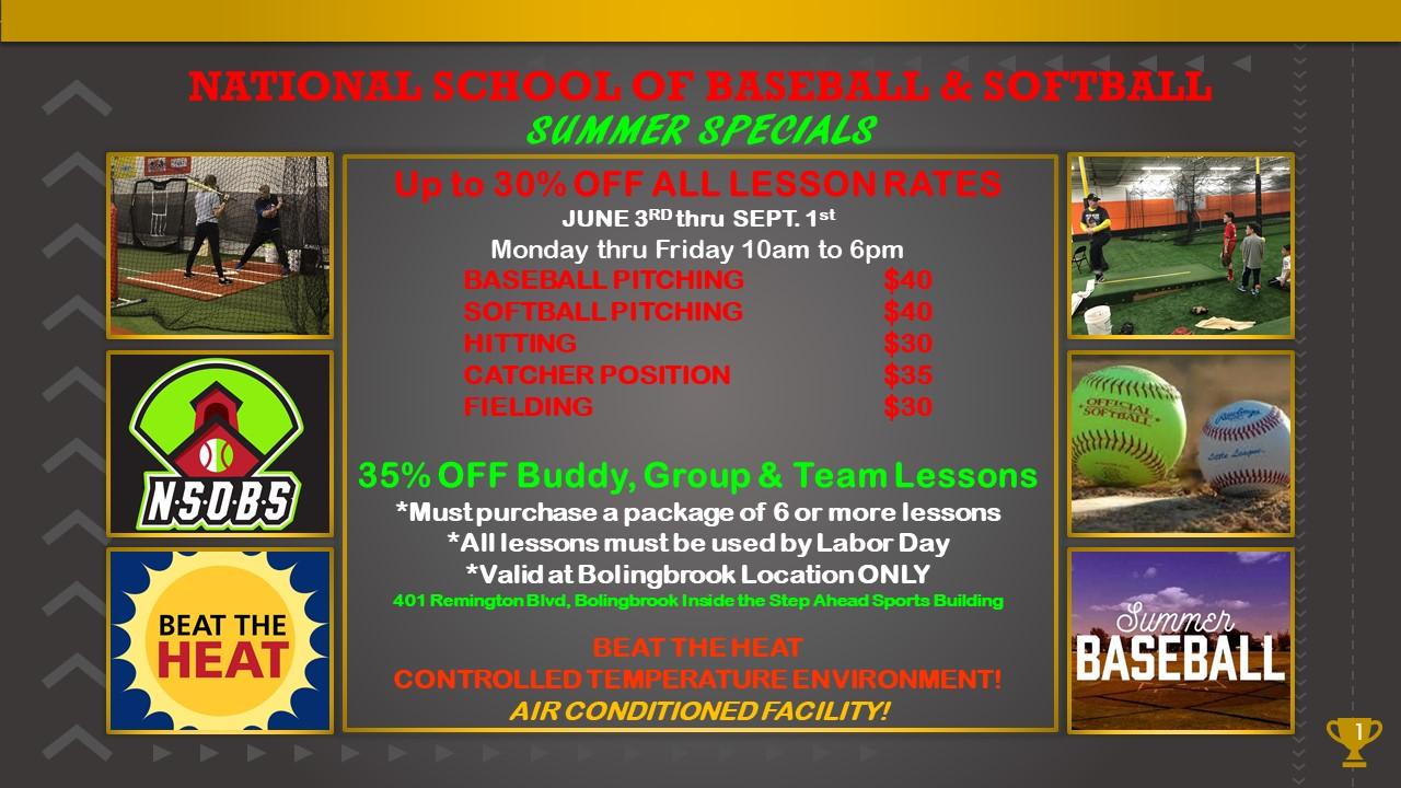 summer special for baseball