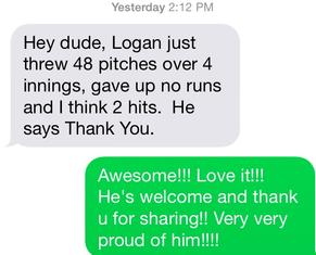 testimonial, Logan Palmiter